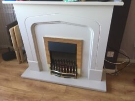 Fire and surround for sale (electric)