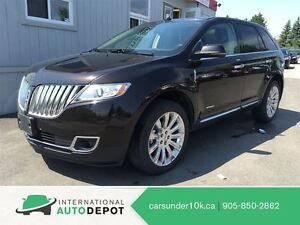 2013 Lincoln MKX LUXURY SUV/  HANDSFREE/ CRUISE CONTROL
