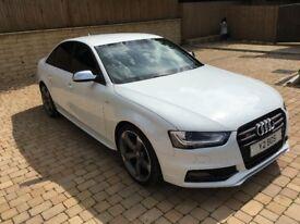 Audi S4 BLACK EDITION , AUTO TRONIC , WHITE