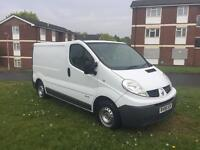 2008 Renault trafic sl27+ dci 115 full mot 116k runs perfect very clean inside and out