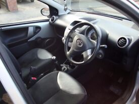Toyota Aygo 1.0 VVT- Ice 5 Door Petrol Silver June 2012