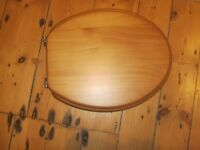Antique Pine Toilet Seat - New £4 - with instructions and box