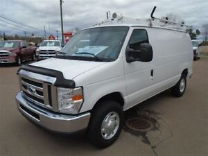 2011 Ford E-250 Roof Rack and Shelving