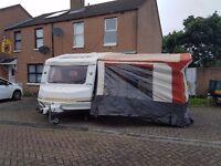 5/6 berth touring caravan