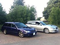 SUBARU Legacy 2.0 GTB Turbo JDM Import Models * CHOICE OF TWO * Estate forester impreza sti