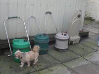 3 aqua rools 1 wastemaster