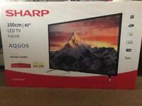 """Brand new sharp 40"""" LED TV"""