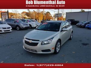 2014 Chevrolet Cruze LT Auto ($47 weekly, 0 down, all-in, OAC)
