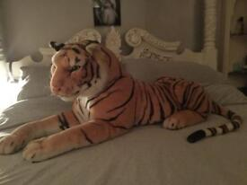 Beautiful large stuffed Tiger