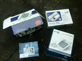 4 x BT phones ,freestyle,memorecorder boxed all work
