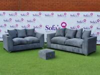 Brand new 3+2 jumbo cord sofa sets 🔥😍✅