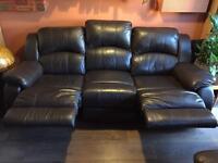 Three seater recliner sofa