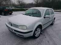 **2003 VOLKSWAGEN GOLF 1.6 MATCH 12 MONTHS MOT ALLOYWHEELS TOP SPEC TOP RUNNER**