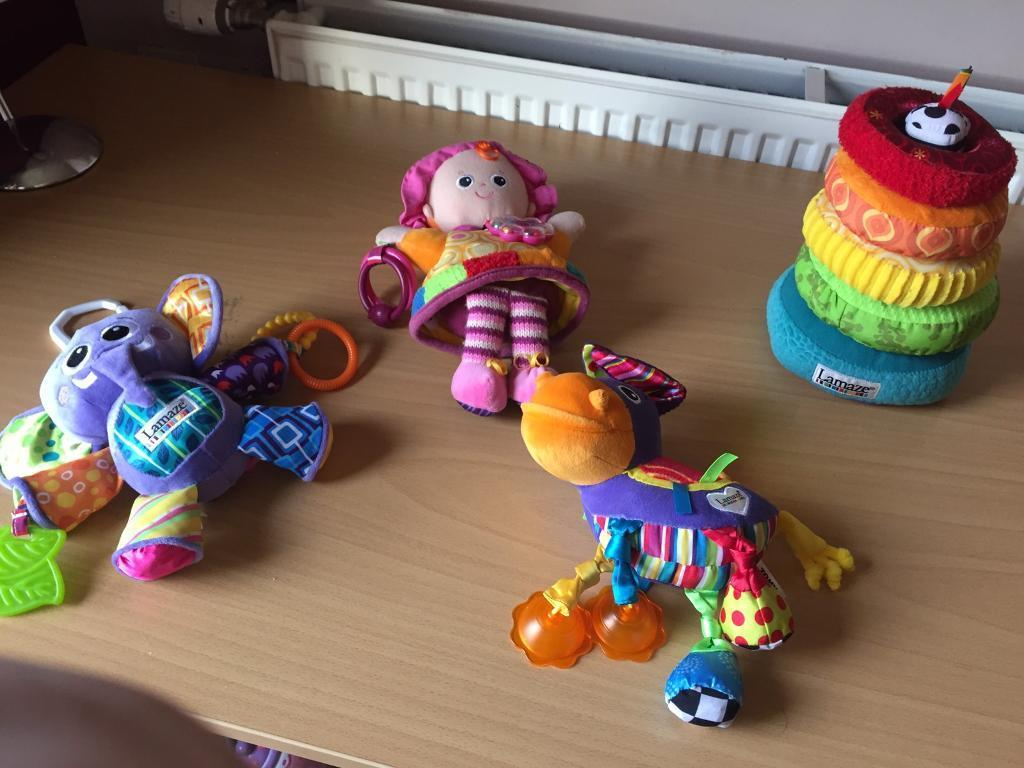 Lamaze toys for baby - perfect condition