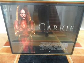 Carrie Film Movie Poster 3D Original Framed Glazed