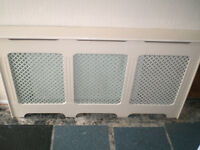 RADIATOR CABINET COVER VERY GOOD CONDITIO QUICK AND EASY TO FIT
