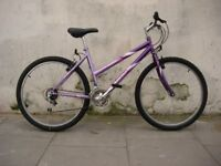 Ladies Mountain/ Commuter Bike by Universal, Purple, Great Condition, JUST SERVICED/ CHEAP PRICE!!!