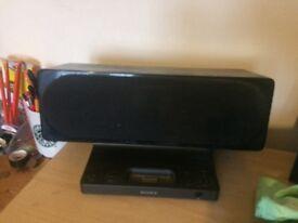 Sony iPod dock speakers