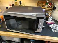 3x microwave oven for parts or repair