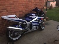 Gsxr k3 600 motorcycle sports bike