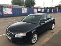 2007 AUDI A4 2.0 TDI /CAMBELT&SERVICE&1 YEAR MOT /MINT CONDITION /F.S.H
