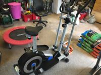 Cross Trainer / Exercise Bike - Roger Black