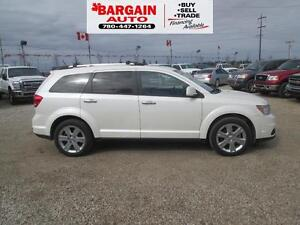 2012 Dodge Journey RT,LEATHER,MOON ROOF,NAVIGATION,AWD