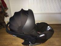 Cybex cloud q reclining car seat and isofix base