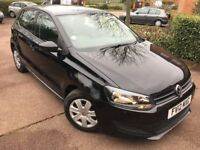 2012 Volkswagen Polo 1.2 S 5dr (a/c) (09 - 13) - Black - Clean Car - P/X Welcome