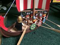 Playmobil Viking long boat