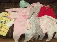 Baby girl's clothes bundle 3-6 mths