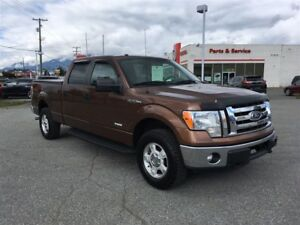 2011 Ford F-150 XLT Ecoboost Supercrew Cab with back up camera