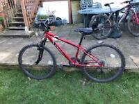 Boys mountain bike (9-12yrs)