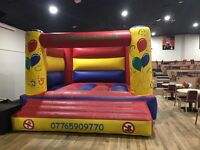 Bouncy castle hire & inflatable slide hire from £40