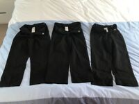 3 x children's school trousers (4-5 years old)