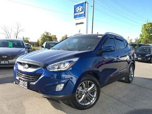 2015 Hyundai Tucson GLS One owner no accidents