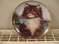 Cat plate (FAR FROM HOME) 8""