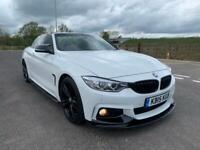 2015 BMW 4 Series 420D M-Sport Convertible+FSH+1 OWNER+PX+SWAP