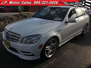 2011 Mercedes-Benz C-Class C350, 4MATIC, Leather, Sunroof, Back
