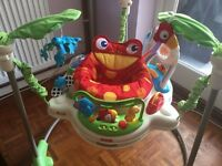 Fisher Price Rainforest Jumperoo Baby Bouncer Activity Station £70.00 ONO