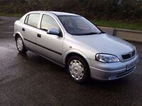 vauxhall astra 1.6 ls 16v twinport new mot this week good condition