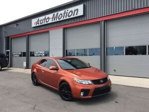 2010 Kia Forte Koup SX STICKSHIFT 128K LOCAL TRADE