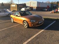 Mk 2 mx5 1.8S. 12 months MOT, comes with hard top.
