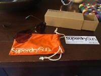 Superdry Huntsman Black / Purple Sunglasses