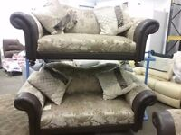2 sofas from dfs brand new