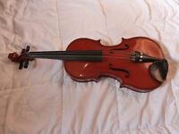 Stradivarius replica violin, 3/4