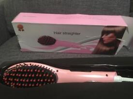 Hair Straighter Brush