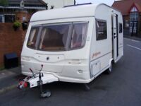 avondale argente 2 berth 2004 +2 awnings and accessories