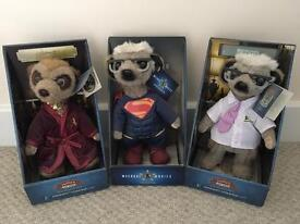 Meerkat toys - unused and still in boxes
