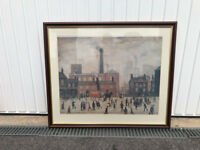 """LS Lowry """"Coming Home From The Mill"""""""